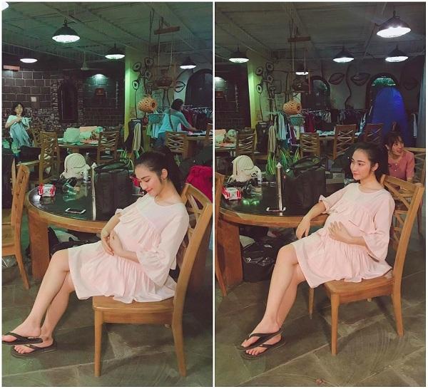 Xôn xao với hình ảnh Hòa Minzy ôm bụng bầu hậu nghi vấn sinh con đầu lòng, nhưng hóa ra sự thật là thế này