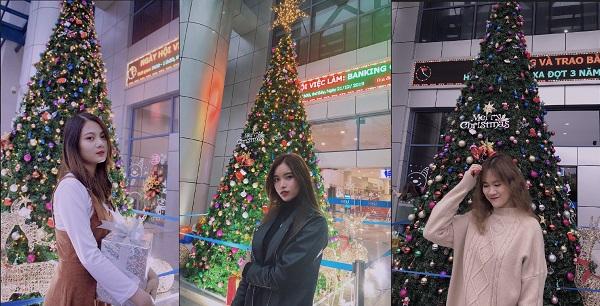"""Trai xinh gái đẹp NEU khoe loạt ảnh đón Giáng sinh với """"background sống ảo"""" siêu sang chảnh"""