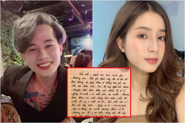 """Nghi vấn mẹ nuôi giả mạo thư tay Jack tỏ tình với Thiên An để đổ tội """"bỏ công ty theo người yêu"""""""