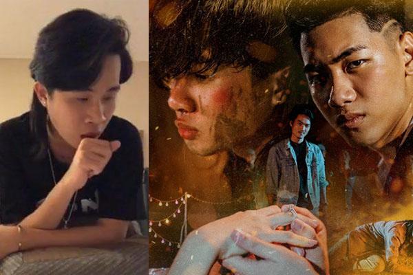 Designer thiết kế poster MV Sóng Gió tố ekip hạnh họe luôn bắt để hình Khánh lớn hơn Jack