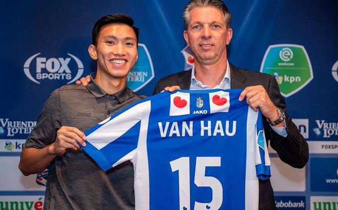 Đoàn Văn Hậu chính thức vắng mặt tại VCK U23 châu Á, tới Tây Ban Nha tập huấn cùng Heerenveen