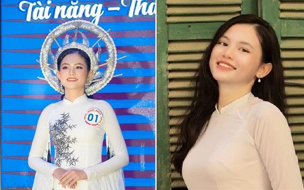 Nữ sinh 17 tuổi xuất sắc đăng quang Hoa khôi Thanh niên Lào Cai tài năng, thanh lịch 2019