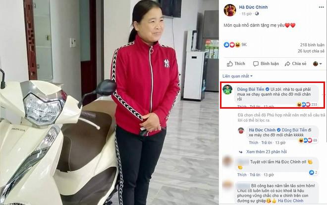 Chất chơi như Hà Đức Chinh: Đầu năm xây nhà, cuối năm tậu xe máy xịn cho mẹ vi vu chơi Tết
