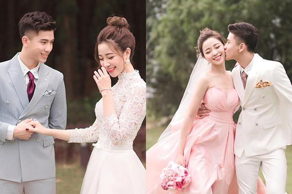 Bà xã cầu thủ Phan Văn Đức tung ảnh cưới đẹp như mơ, nhan sắc cô dâu khiến dân mạng hết lời khen ngợi