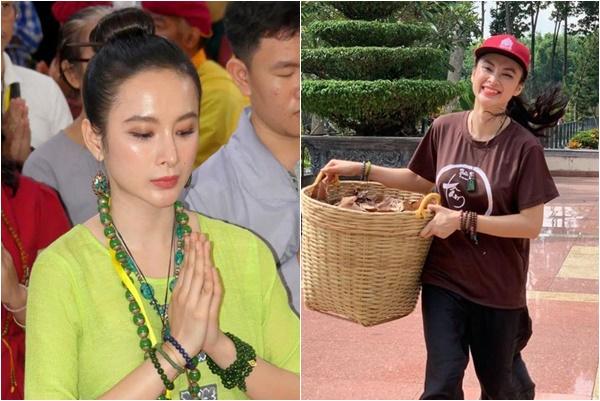 Từ người đẹp thị phi, Angela Phương Trinh bất ngờ tuyên bố ăn chay trọn đời sống trong sạch