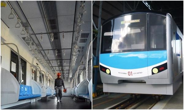 Hot rần rật: Tàu điện ngầm đầu tiên tuyến Metro Bến Thành - Suối Tiến cuối cùng cũng lộ diện
