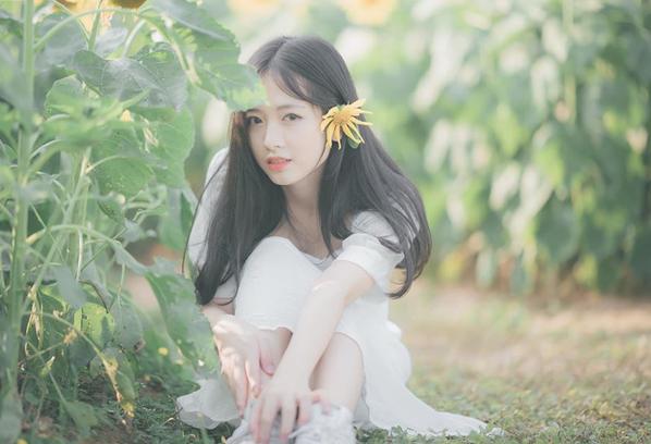 Nữ sinh trường y đẹp mong manh tựa sương mai trong bộ ảnh chụp giữa rừng cỏ lau
