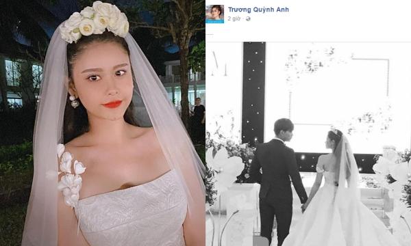 Trương Quỳnh Anh bất ngờ đăng ảnh đội voan cô dâu, ẩn ý mong ước chưa từng được thực hiện với Tim