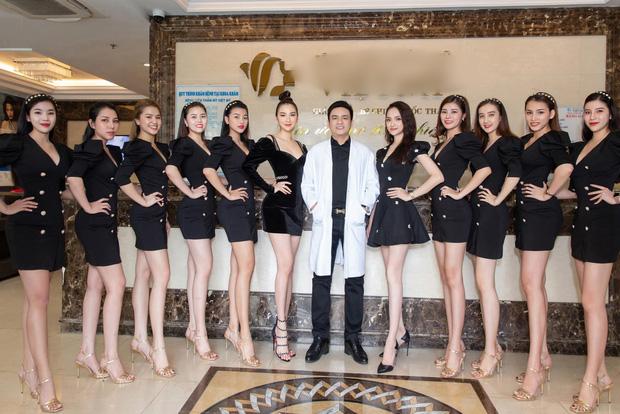 """Chọn nhầm váy, Hương Giang bỗng """"chìm nghỉm"""" giữa dàn nhân viên thẩm mĩ viện"""