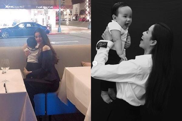 Im lặng khi mang bầu, đợi con 1 tuổi Phạm Hương thoải mái chia sẻ chuyện sinh nở