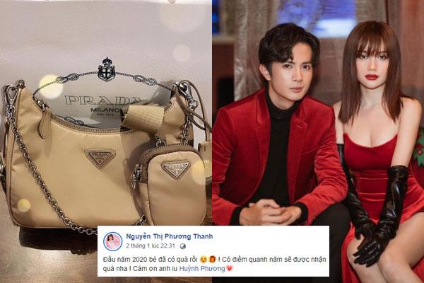 Chăm chỉ tặng quà cho bạn gái, Huỳnh Phương FAPtv đích thì là nam thần cuồng bạn gái nhất Vbiz