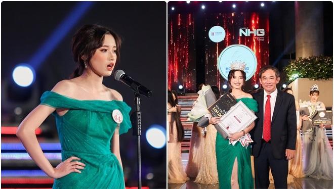 Lê Thanh Hà Vi trở thành tân Hoa khôi Đại học Quốc tế Hồng Bàng