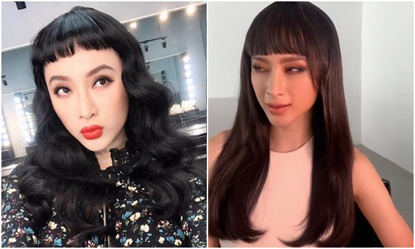 """Vừa tuyên bố ăn chay trọn đời, Angela Phương Trinh xuống luôn mái tóc """"siêu ngố"""""""