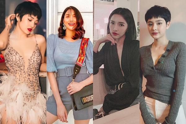 Tóc càng ngày càng ngắn, nhưng 4 sao nữ này được CĐM ủng hộ xuống tóc nhiệt tình