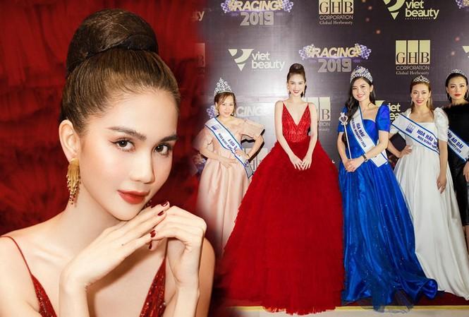 """Lộng lẫy chẳng được bao lâu, Ngọc Trinh bị xử phạt vì tổ chức Hoa hậu """"chui""""?"""