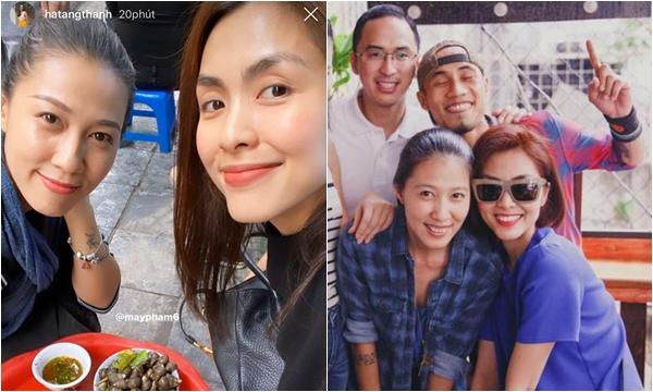 Tăng Thanh Hà và vợ Phạm Anh Khoa hội ngộ sau 10 năm, nhan sắc mặt mộc của 2 bà mẹ khiến CĐM chao đảo