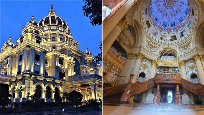 Cảnh bên trong cung điện nghìn tỷ của đại gia xi măng mới khánh thành sau 3 năm ròng rã xây dựng