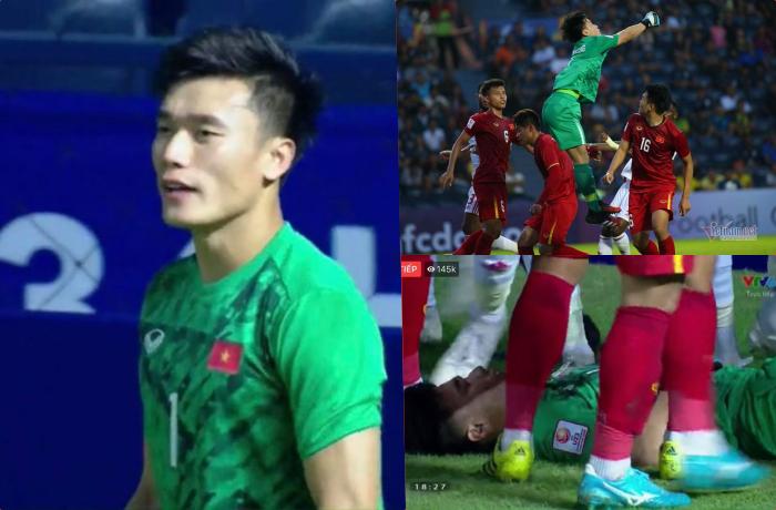 Bị UAE chơi xấu, Bùi Tiến Dũng gặp chấn thương đầy đau đớn nhưng vẫn gắng gượng vì màu cờ Việt Nam