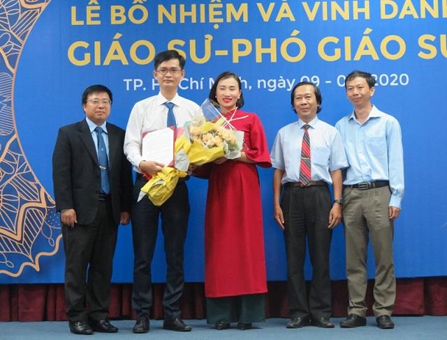ĐH Bách khoa TP HCM vinh danh phó giáo sư trẻ nhất là một nhà giáo 35 tuổi