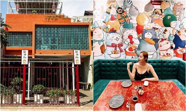 """Liêu xiêu """"đảo mèo"""" độc nhất vô nhị chuẩn Hong Kong ngay giữa lòng Sài Gòn"""