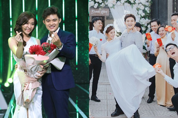 """Cặp đôi duy nhất đến hiện tại của """"Người ấy là ai"""" kết hôn, chứng minh ngôn tình từ truyền hình bước ra ngoài đời là có thật"""