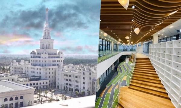 Mắt tròn mắt dẹt trước trường Đại học kiến trúc châu Âu với học phí hơn 2.4 tỷ hoành tráng nhất Việt Nam