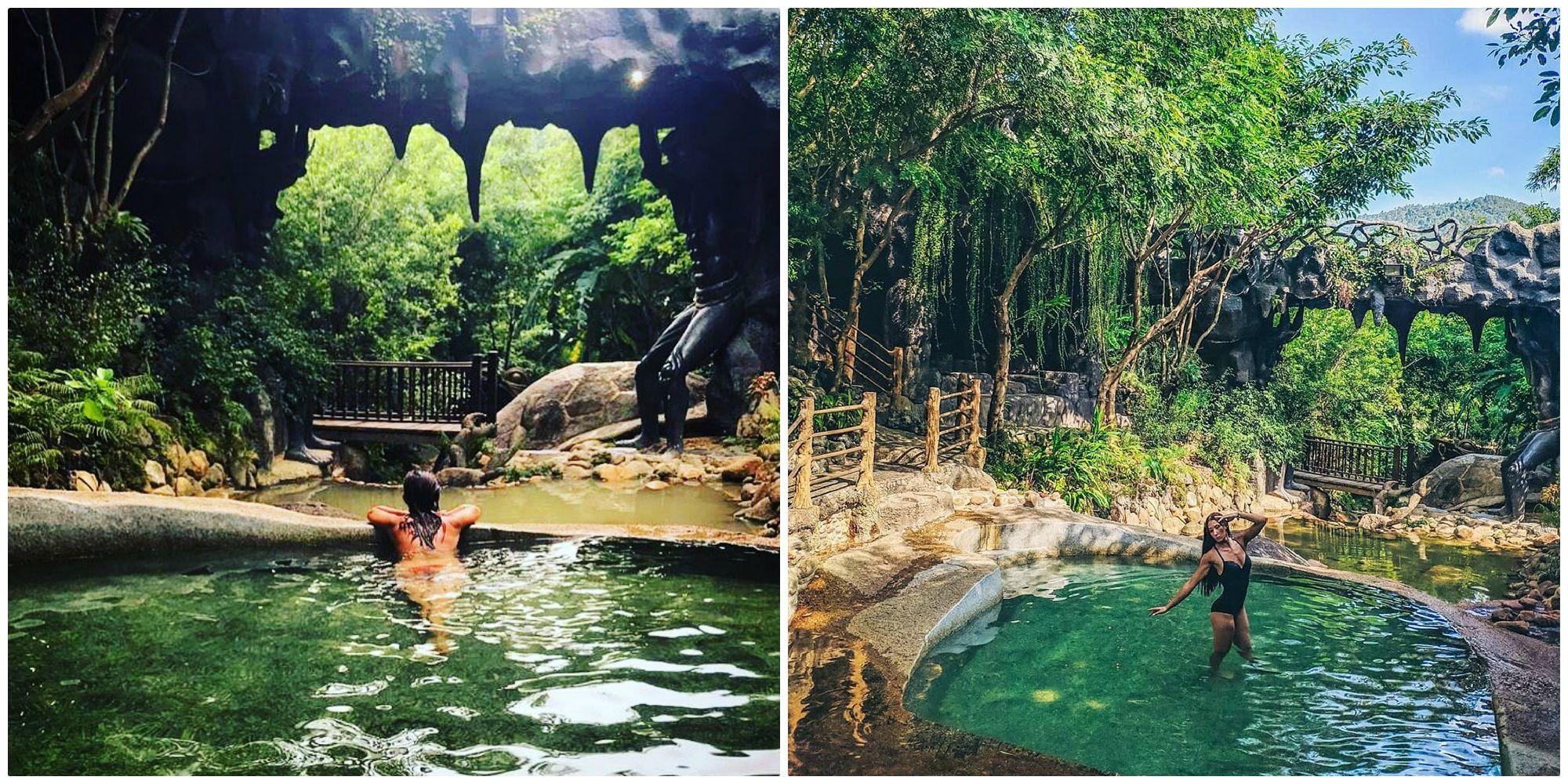 """Đến Đà Nẵng nhất định phải thử """"tắm OSEN"""" giữa rừng đầu tiên ở Việt Nam"""