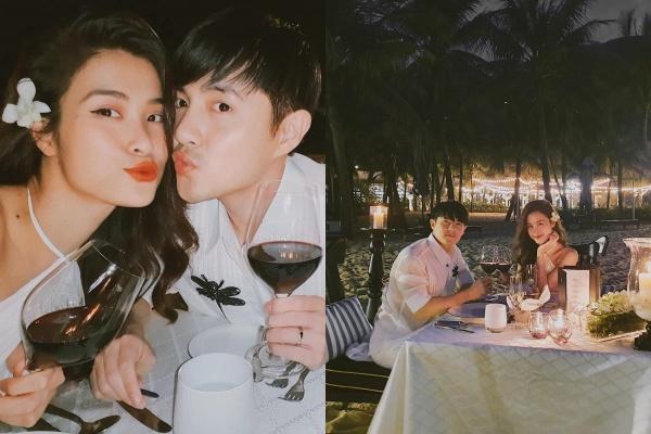 Ngọt ngào như vợ chồng son Đông Nhi - Ông Cao Thắng: Tổ chức sinh nhật lần thứ 34 cho chồng yêu bên bờ biển lãng mạn