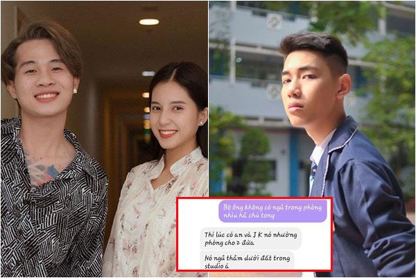 Người thân cận tiết lộ K-ICM bị ốm vì phải nằm đất nhường cho Jack - Thiên An nằm giường