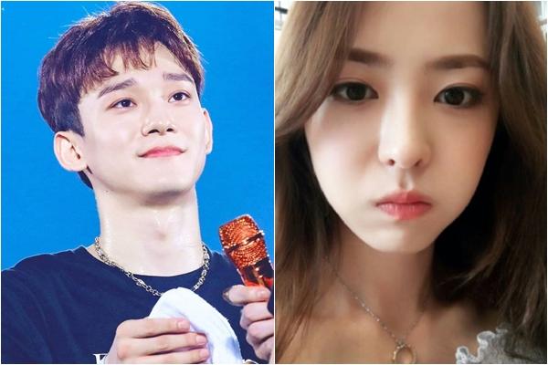 """Rò rỉ hình ảnh vợ sắp cưới của Chen (EXO), xinh ngang ngửa idol mỗi tội hay """"khoe khoang"""""""