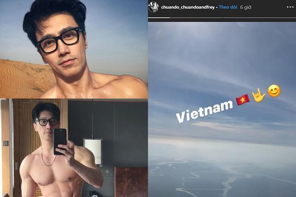 """Sugar Daddy 52 tuổi cơ bắp cuồn cuộn check in tại Việt Nam, hội chị em """"xin mã gen"""" ầm ầm"""