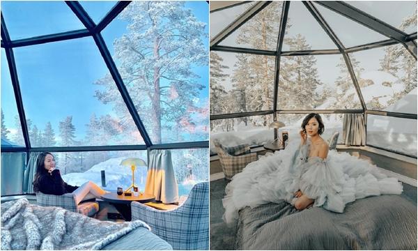 """""""Chu du"""" khách sạn nhà kính view đắt giá nhất thế giới ngắm bắc cực quang đẹp mê li"""