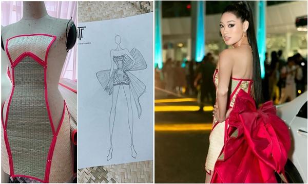 """Bộ váy chiếu cói của Khánh Vân hóa ra được lấy cảm hứng từ chính """"đàn chị"""" H-Hen Niê"""