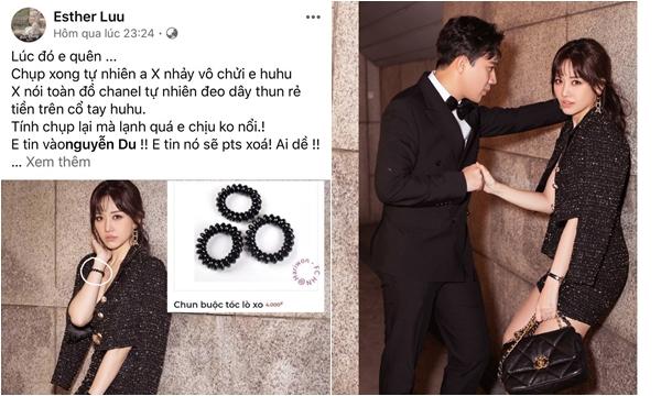 """Hari Won bị Trấn Thành mắng """"không trượt phát nào"""" vì lỡ đeo chun 4k chụp ảnh cùng bộ đồ Chanel trăm triệu"""