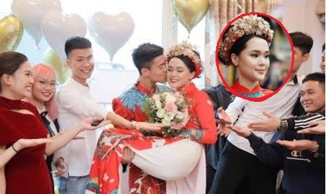 """Bị chê make-up xấu như gái già không xứng với Duy Mạnh, Quỳnh Anh tung clip """"dằn mặt"""", xem mới thấy đẹp xuất sắc"""