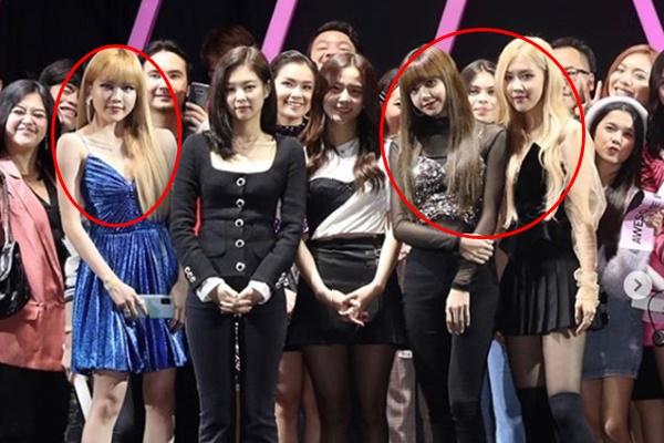 Khi Thiều Bảo Trâm có dịp đứng cạnh Black Pink: Tự nhiên lại thấy 2 cặp chị em sinh đôi với Lisa,  Rosé