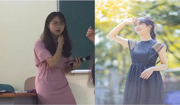 """Nữ giảng viên viên của Đại học Kinh tế Quốc dân xinh đẹp trong bức ảnh chụp lén, quả không hổ danh NEU nhiều """"cực phẩm"""""""