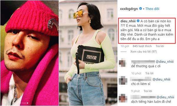 """Thấy G-Dragon đội mũ hồng đẹp, Diệu Nhi ngỏ ngay """"lời yêu"""" tiện luôn hỏi: """"Anh có bán không để em mua"""""""