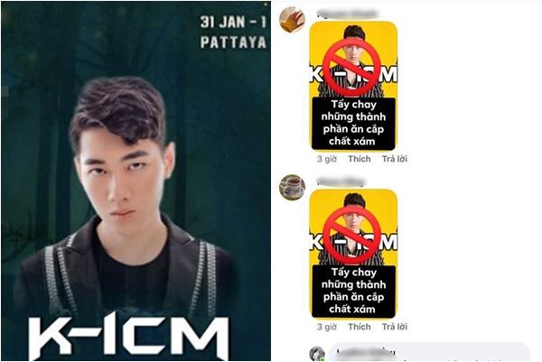 Bị tẩy chay vì mời K-ICM đến đệm đàn, BTC lễ hội âm nhạc đành phũ không thương tiếc