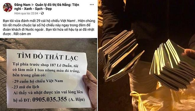 Hàng trăm người trắng đêm bới rác tìm 29 cuốn hộ chiếu cứu cả một công ty