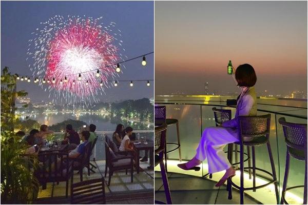 """Giao thừa này mưa to, Top 10 quán cafe ngắm pháo hoa đêm GIAO THỪA view cực đẹp ở Hà Nội chính là địa điểm """"lý tưởng"""" đây"""