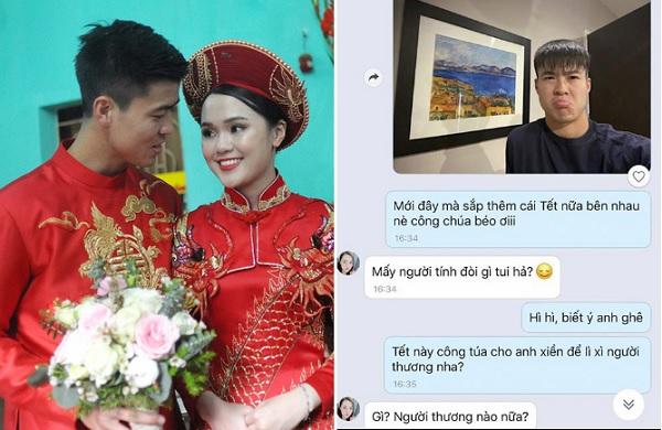 """Mới chỉ ăn hỏi, Duy Mạnh đã bị Quỳnh Anh kiểm soát tài chính, đến tiền lì xì Tết cũng phải """"ngửa tay"""" xin vợ"""