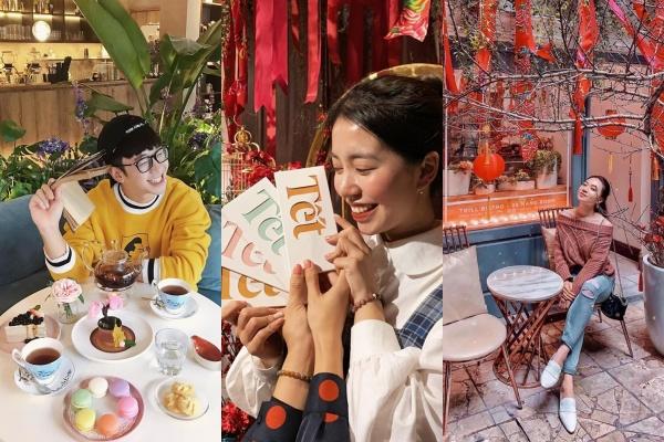 """""""Đi đu đưa đi"""" năm nay cùng những quán cà phê mở cửa xuyên Tết tràn ngập sắc xuân"""