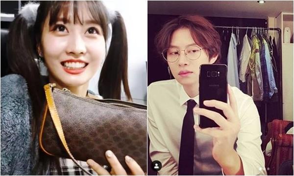 """Vật """"bất ly thân"""" của Momo (TWICE) được phát hiện trong phòng tắm của bạn trai Heechul, fan rần rật: Chắc ngày cưới không còn xa"""
