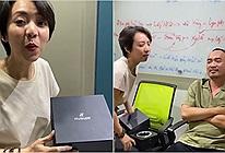 Thu Trang tặng đồng hồ hiệu