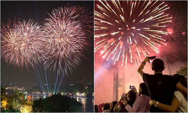 Note lại ngay list địa điểm bắn pháo hoa giao thừa Tết Canh Tý 2020 ở Hà Nội