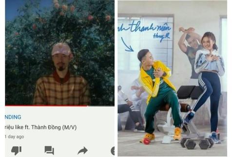 Anh Thanh Niên - HuyR bỗng nhiên đạt top 1 trending, fan bức xúc đòi trả top cho Đen Vâu!