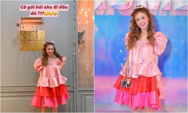 """Chưa sang năm mới, Midu đã """"mở bát"""" sao mặc váy thảm họa khi diện chiếc baby doll hồng sến như """"thím"""" nào"""