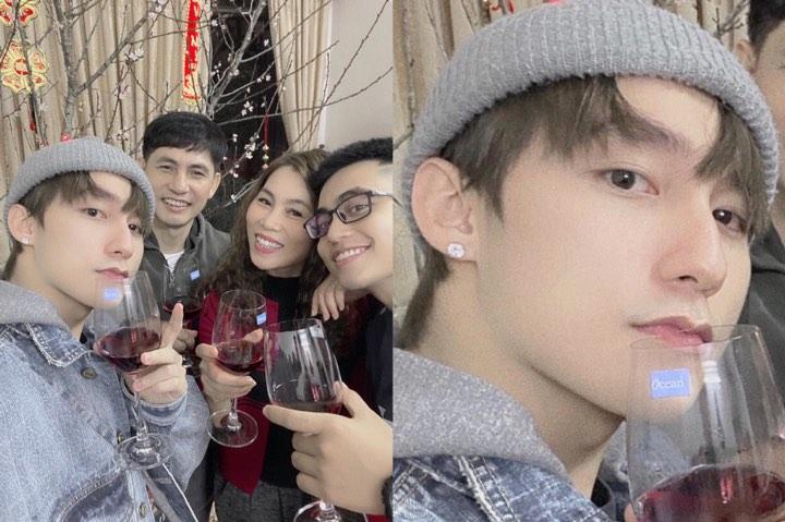 """Loạt sao Việt khoe khoảnh khắc đón năm mới, nhưng Sơn Tùng vẫn chiếm spotlight vì style """"thiếu nữ ngoan"""""""