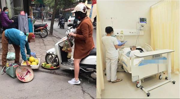 """Bị dân tình """"tấn công"""" bởi hành động cán rổ hoa quả, chủ shop thời trang phải nhập viện vì quá mệt mỏi"""